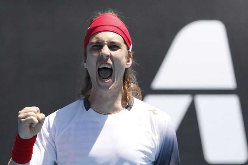 The unseeded Slovak Lukas Lacko beat 2016 Australian Open semi-finalist and former world No. 3 Milos Raonic 6-7 (5-7), 7-5, 6-4, 7-6 (7-4).