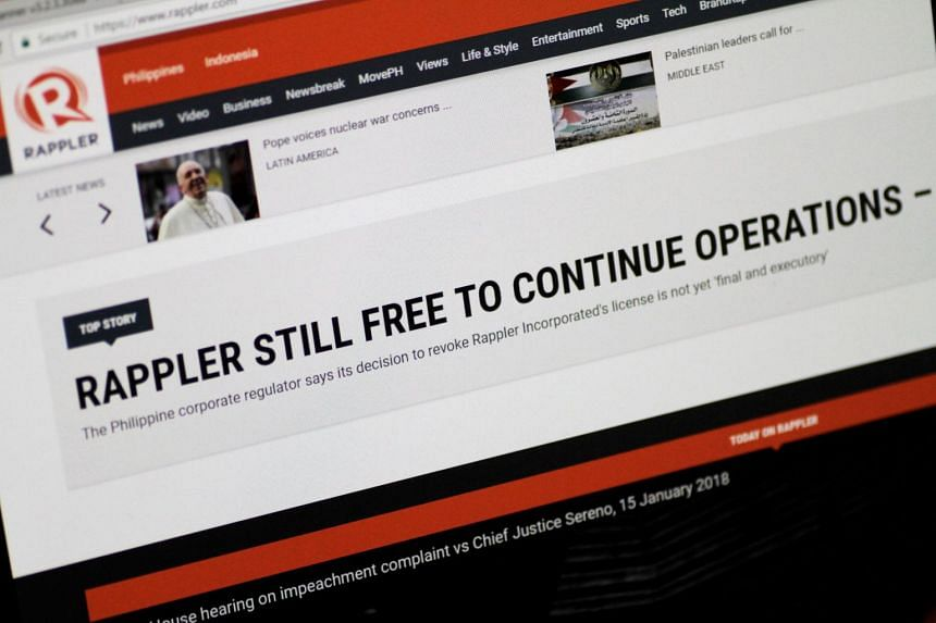 Rappler's chief executive Maria Ressa vowed to fight the ruling, which takes effect after 15 days.