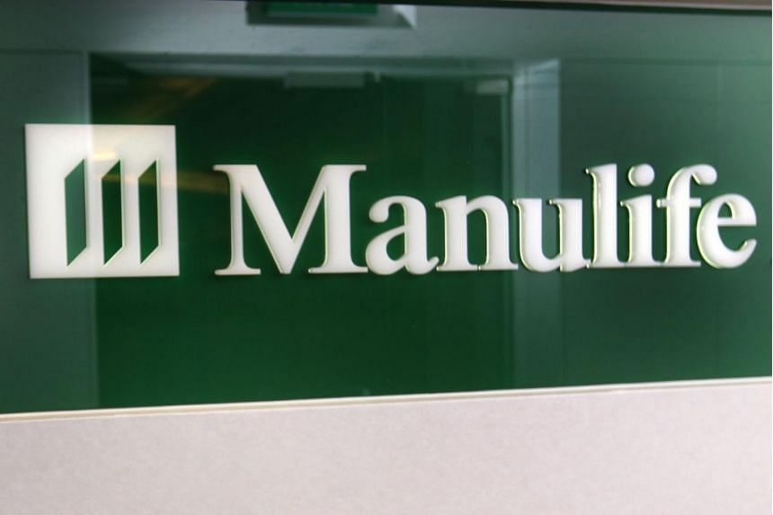 The Manulife logo seen in one of its offices in 2013.
