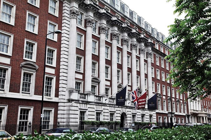 The Millennium Hotel London Mayfair. City Developments last month raised its offer price to acquire the remaining stake in Millennium & Copthorne Hotels that it does not yet own to 620 pence per share, up from 552.5 pence earlier.
