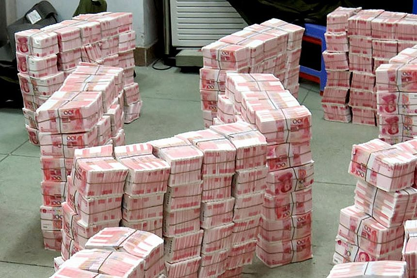 The authorities are calling the currency bust the biggest counterfeiting case in China's modern history.