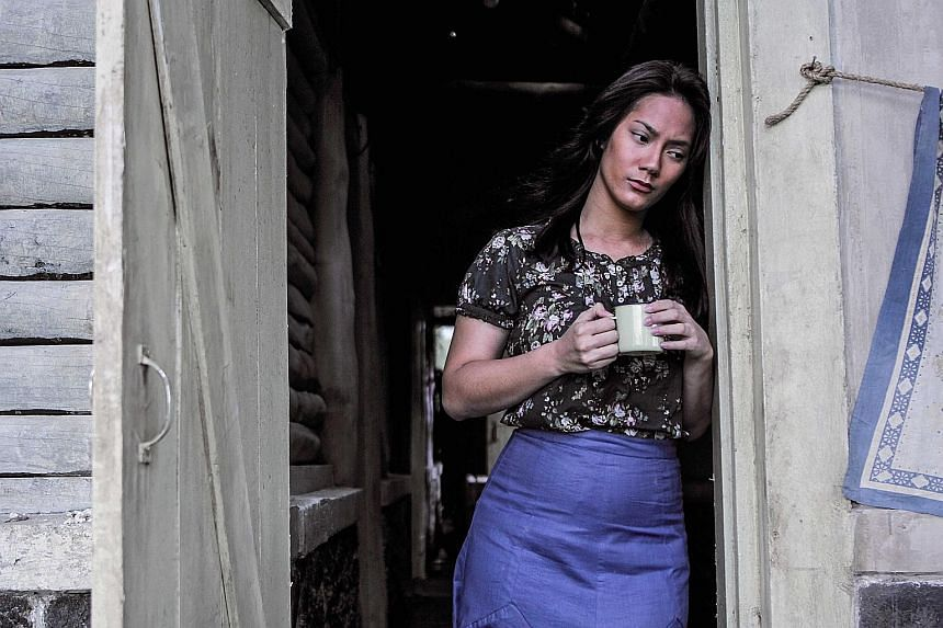 Tara Basro plays a young woman who looks after her family living on the edge of a cemetery in Satan's Slaves.