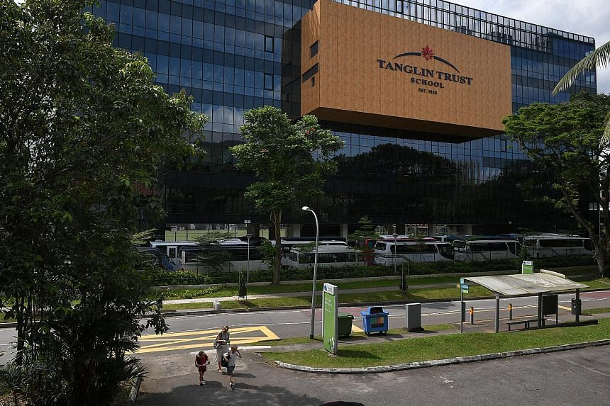 "Tanglin Trust School in Portsdown Road has advised parents that ""students should not walk alone in the vicinity of the school, but walk with friends"". One of their students was approached on Tuesday by two people in a white van who asked her to get i"