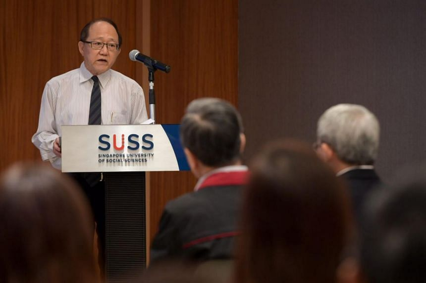 Speaking at the donation ceremony at SUSS, Mr Tan Hsuan Heng, nephew of Madam Tan and executor of her estate, said he hopes recipients will continue to uphold Madam Tan's generous spirit.