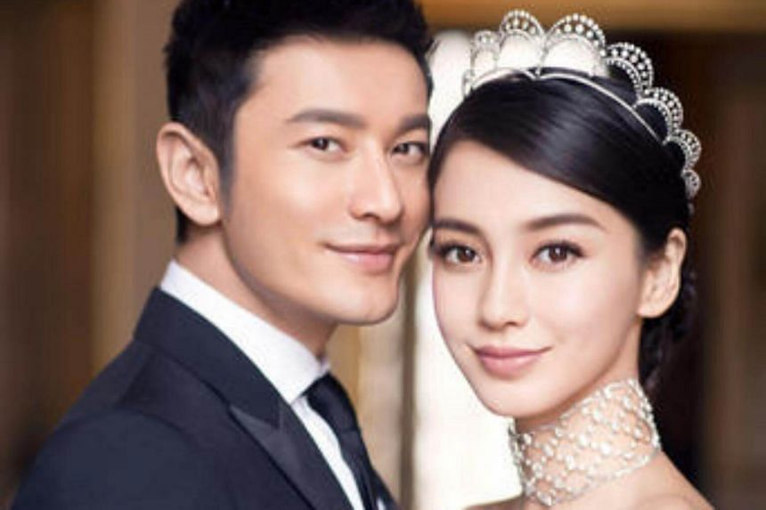 Chinese actor Huang Xiaoming says he has talked to his wife Angelababy about her acting problem.