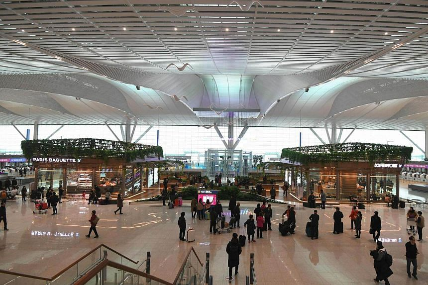 Incheon Airport's new terminal will feature a range of shops and eateries,  with the country's big three duty-free shop operators all setting up stores in the building.