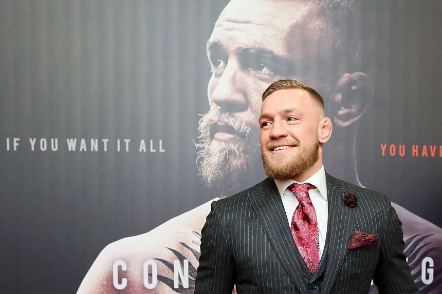 UFC fighter Conor McGregor's only fight in 2017 was a lucrative boxing bout against the undefeated Floyd Mayweather, which he lost.