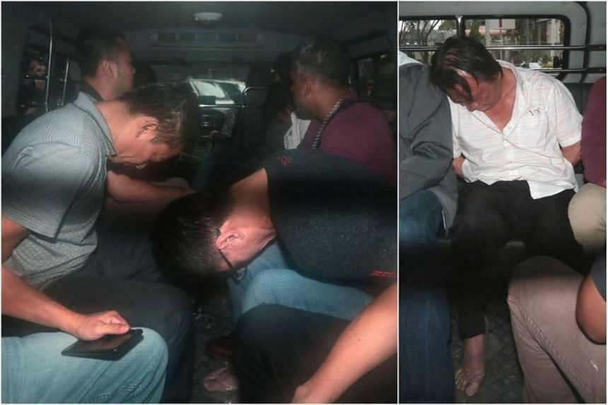 Alan Tan Cheng Chuan, 45, Ng Hock Teck, 54, and Vietnamese national Doan Xuan Than, 46, were each hit with a fresh charge on Jan 18, 2018.