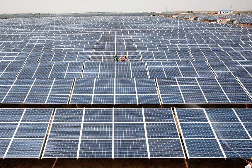 India, which receives twice as much sunshine as European nations, wants to make solar central to its renewable expansion.