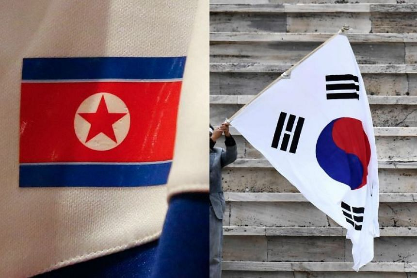 "If the two sides agree on a joint entrance at the opening ceremony, the athletes would march under the ""Korean Unification"" flag."