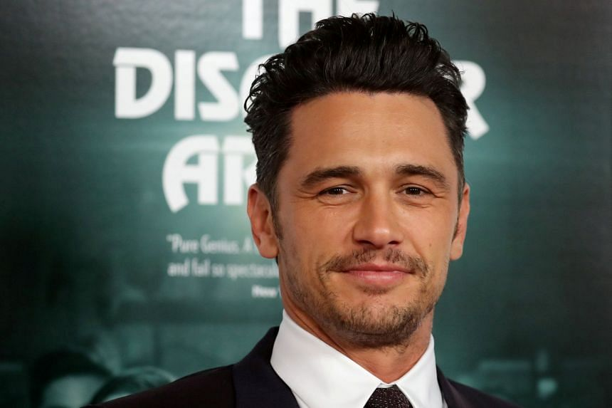 Actor James Franco arriving for the gala presentation of The Disaster Artist at the AFI Film Festival in Los Angeles, California.