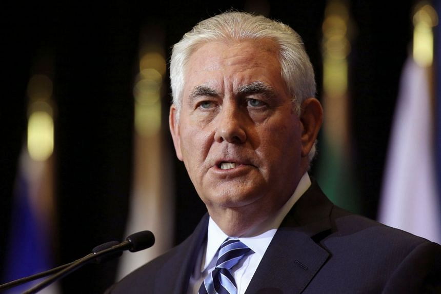US Secretary of State Rex Tillerson said he would make a one-day visit to Britain next week where he hoped to visit the new US embassy.