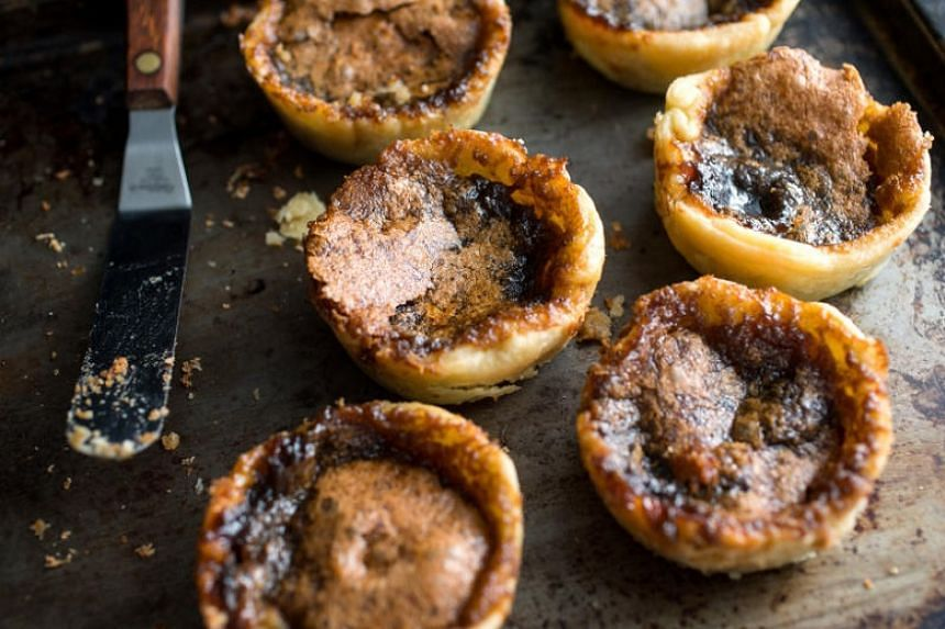 Butter tarts can be very easy to make and are delicious.