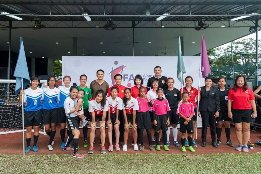 The third Women's Football Day, held at the Kallang Field on March 5, 2017.