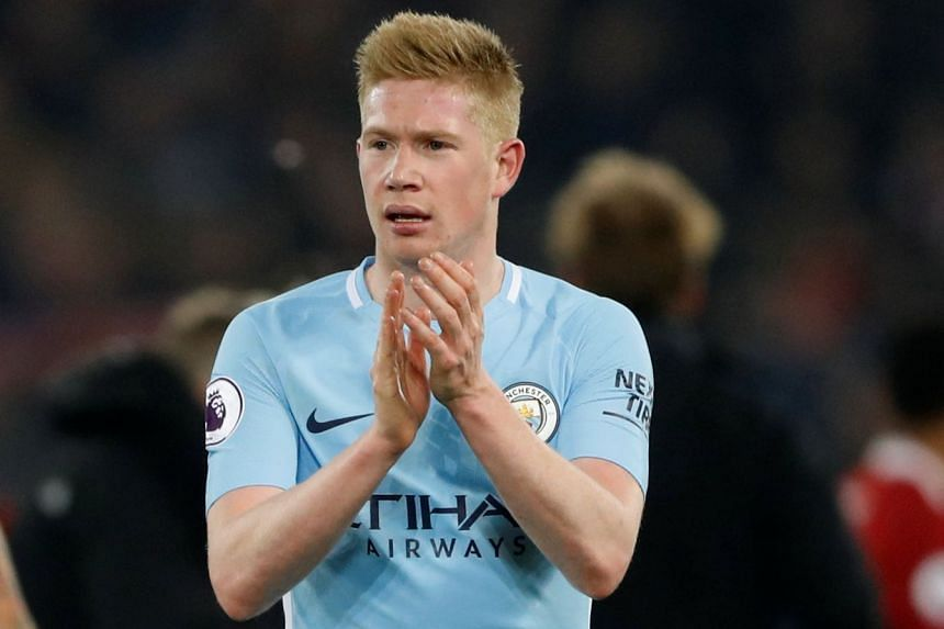 Kevin de Bruyne has racked up 12 assists and seven goals in 31 games for City in all competitions this season.
