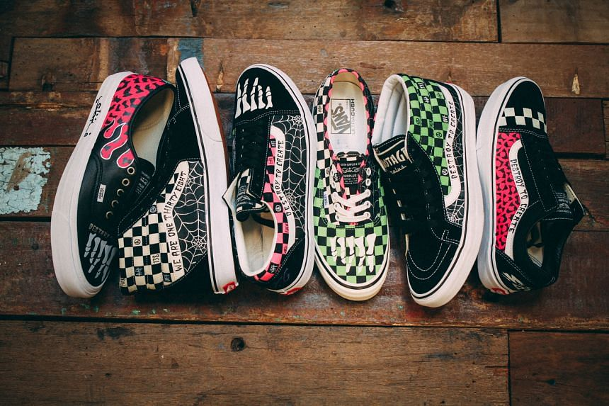 Since 2003, he has customised and sold more than 5,000 pairs of sneakers.