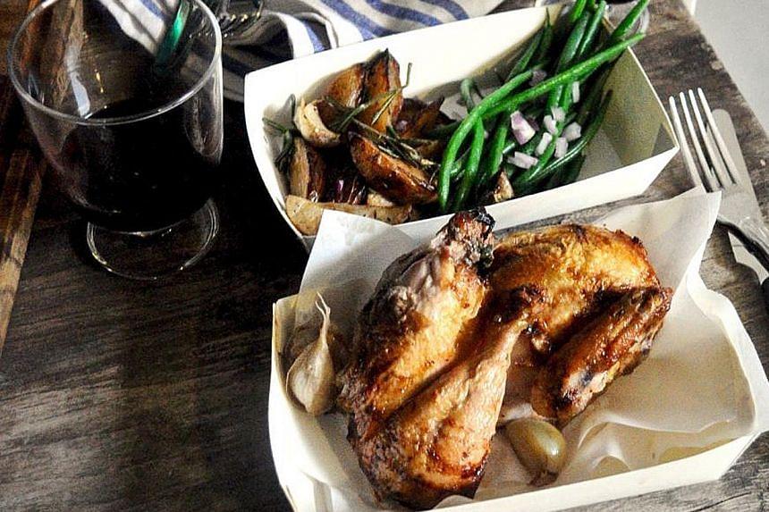 Chicken in Tray So