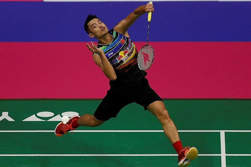 China's Lin Dan believes the form of top-ranked shuttlers may suffer from the demands placed upon them by BWF rules stipulating a minimum 12 competitions a year. He crashed out in this week's Malaysia Masters first round.