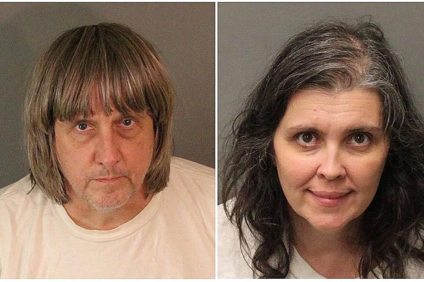 David and Louise Turpin each face nine counts of torture and 10 counts of child endangerment.