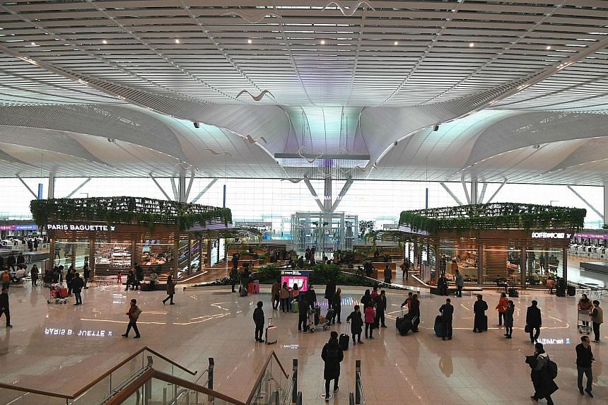 South Korea's Incheon Airport opened its second terminal yesterday ahead of the opening of the Winter Olympics, which will take place from Feb 9 to Feb 25. The new terminal houses Korean Air, Air France, Delta and KLM Royal Dutch Airlines and will be