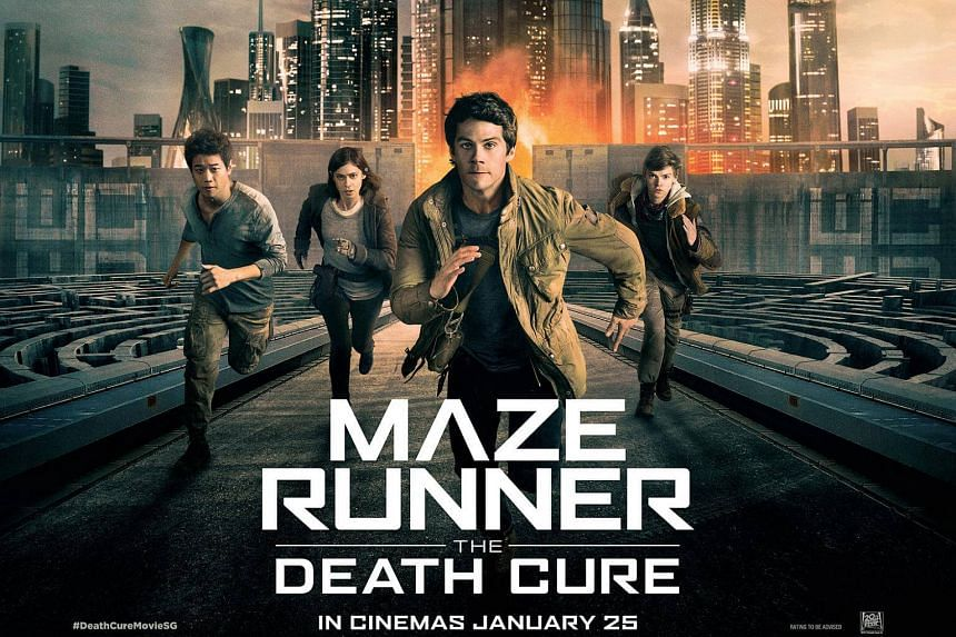 Those who buy Maze Runner: The Death Cure by James Dashner at Books Kinokuniya will get a piece of movie merchandise.