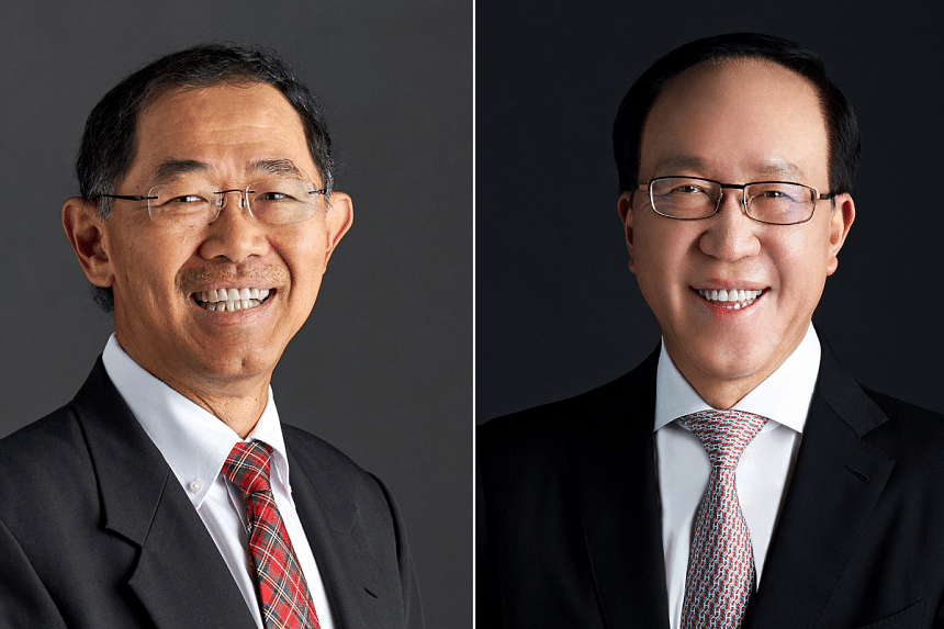 Mr Niam Chiang Meng (left) has been a director on the Mediacorp Board since November 2016.