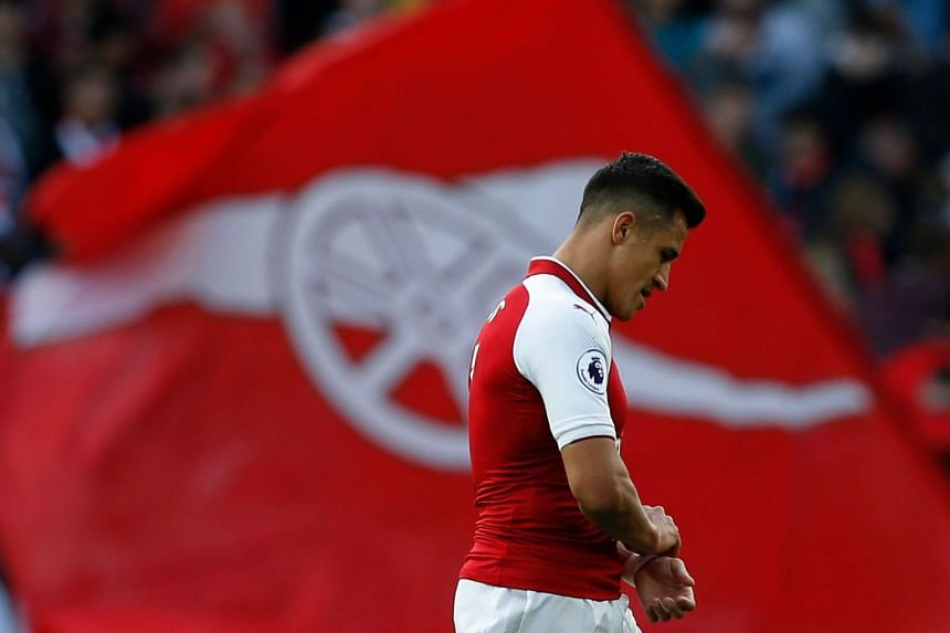 It is understood Sanchez (above) has agreed to United's offer but that Mkhitaryan still has to complete negotiations.