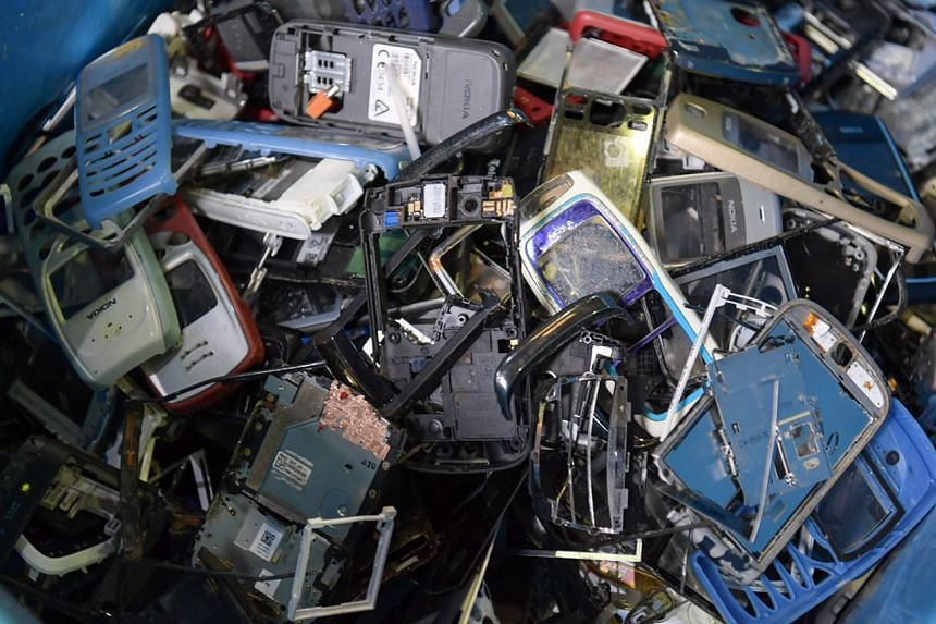 Households in Singapore produce some 30,000 tonnes of e-waste a year - half of the total amount generated, equivalent to the weight of 110 Airbus 380 planes.