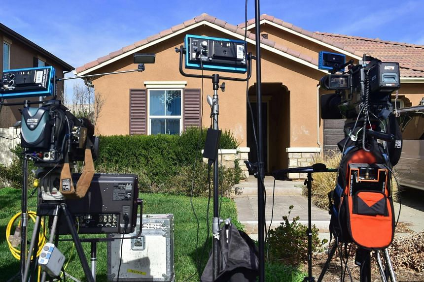 Authorities rescued 13 malnourished children held captive by their parents in this house in Perris, California.