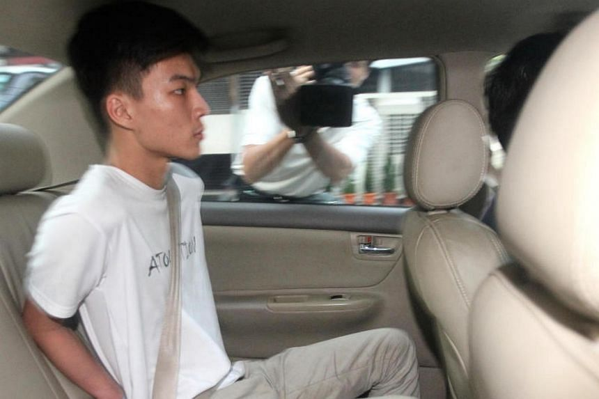 Looi Yu Chong was arrested in Kuala Lumpur on Jan 16 for his suspected involvement in a $5.4 million scam. He was brought back to Singapore on Jan 19.