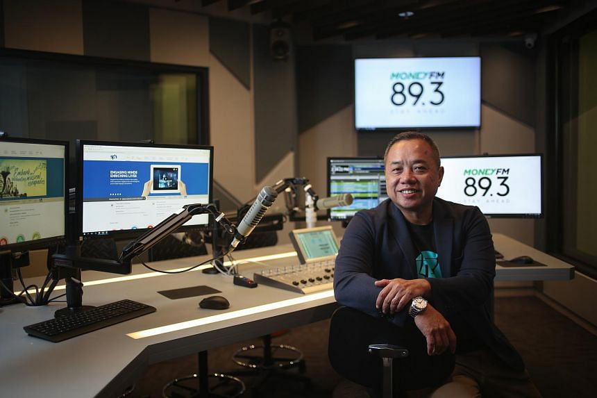 SPH Radio's general manager Sim Hong Huat. SPH Radio will launch Money FM 89.3 on Jan 29, targeting general listeners interested in everyday personal finance matters.
