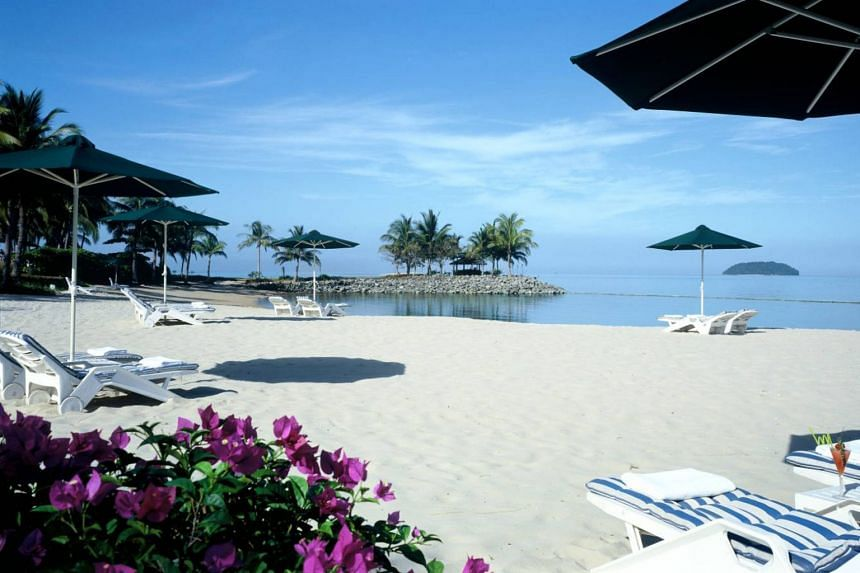 The Tanjung Aru beach in Kota Kinabalu, which was closed off in March 2017 for a massive redevelopment scheme called Tanjung Aru Eco Development.