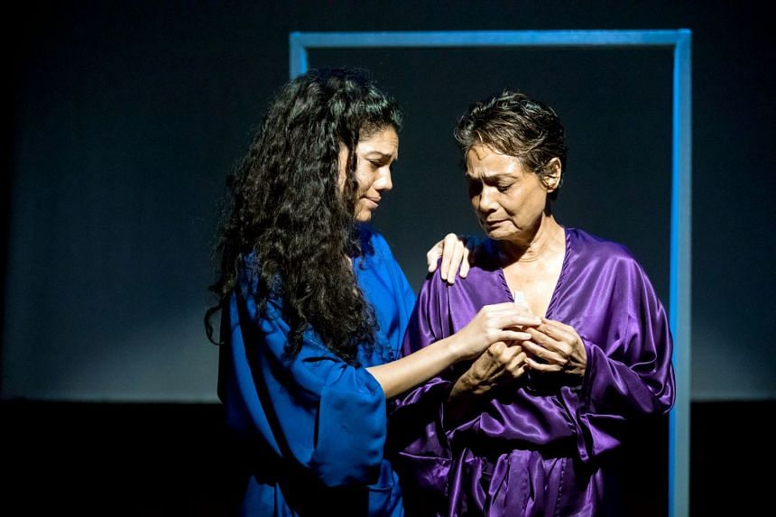 Ajuntha Anwari (right) and her daughter Sharda Harrison in Hayat.