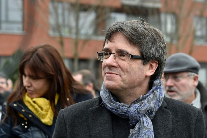 Mr Carles Puigdemont stands a good chance to be voted in at a parliamentary session due by the end of the month.