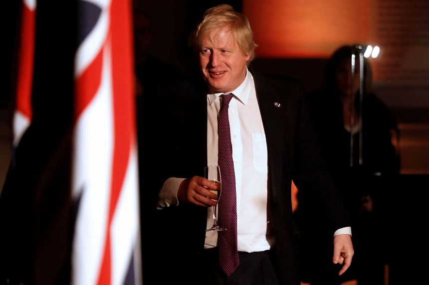 Britain's Foreign Secretary Boris Johnson told French President Emmanuel Macron that he felt it was ridiculous that the two countries were linked by just a single railway.