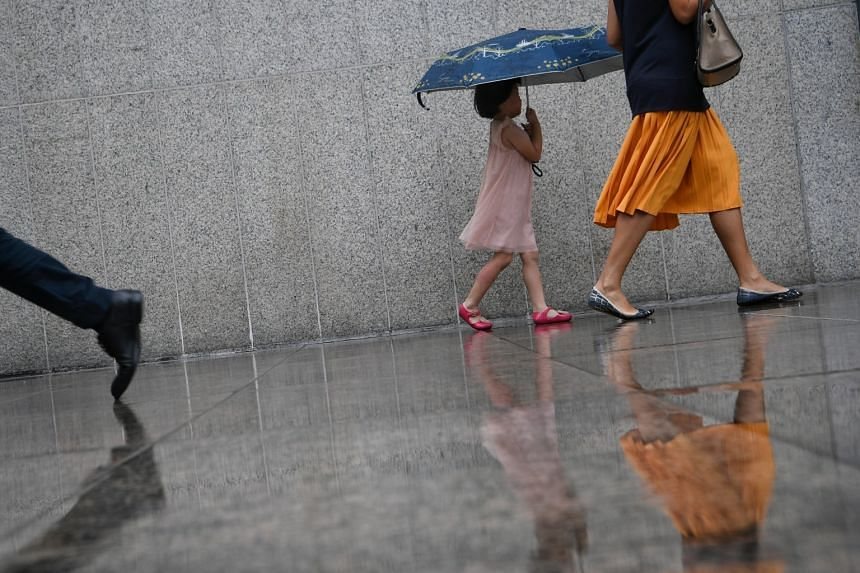 Singapore is experiencing wet weather from the prevailing north-east monsoon.