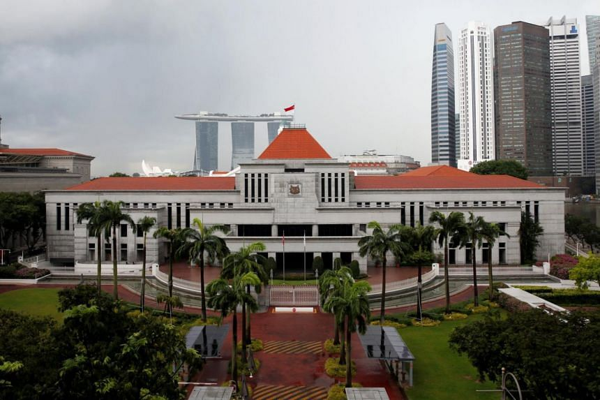 A general view of the Parliament House in Singapore.