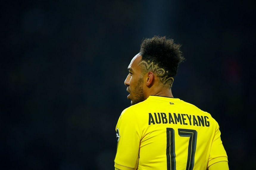 Aubameyang, last season's top scorer in the German league with 31 goals, has been dropped by Dortmund for the last two games.