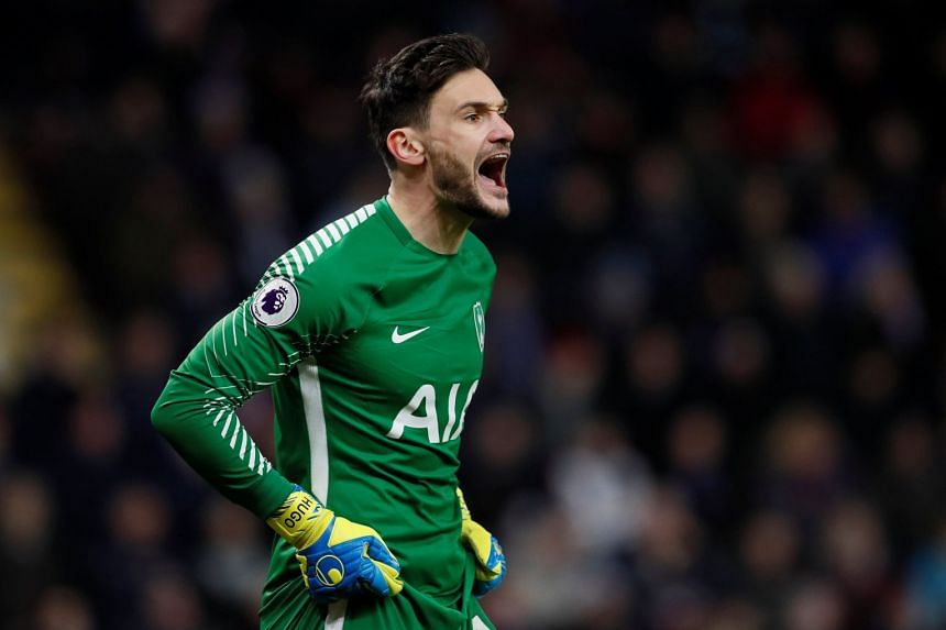 Lloris (above) has started all but one of Tottenham's 23 league games this season.