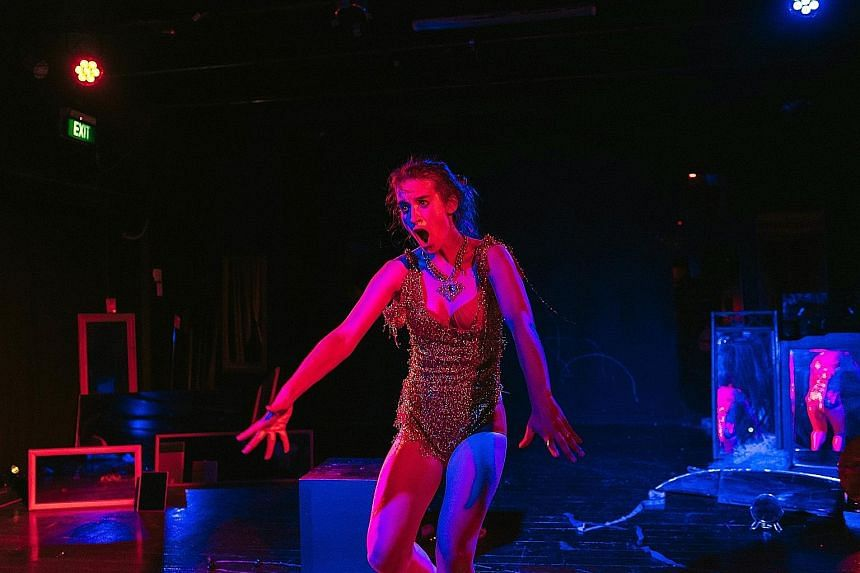 Julia Croft explores the female body in pop culture in If There's Not Dancing At The Revolution, I'm Not Coming.