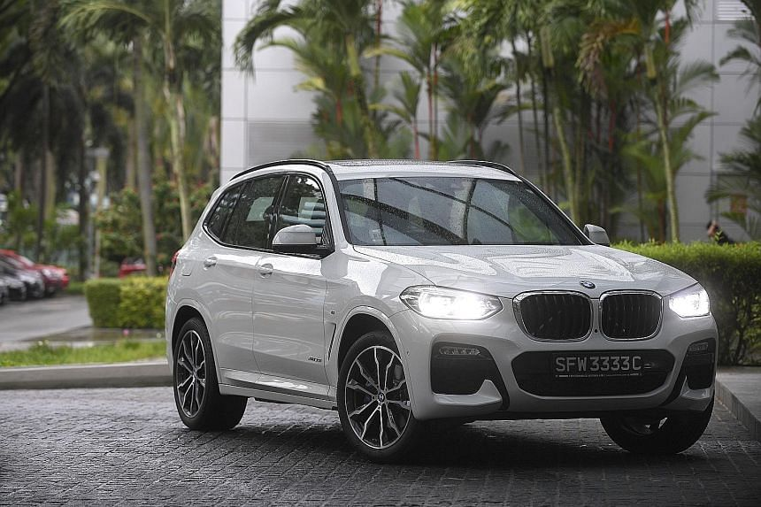The BMW's new X3 is roomy and boasts a more sophisticated design.