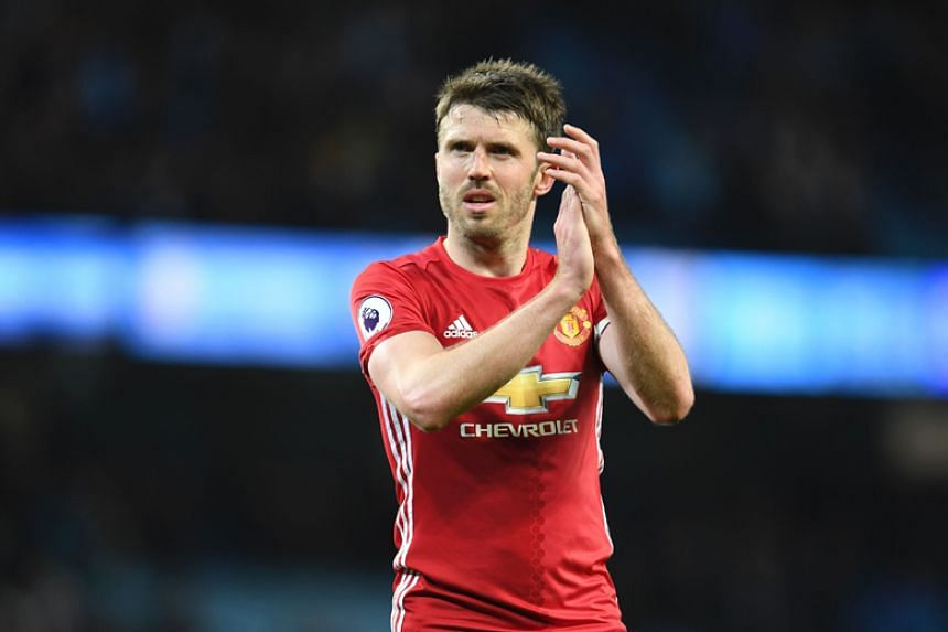 Michael Carrick, 36, has not played since experiencing an irregular heart rhythm in September, though he began training again in November following treatment.