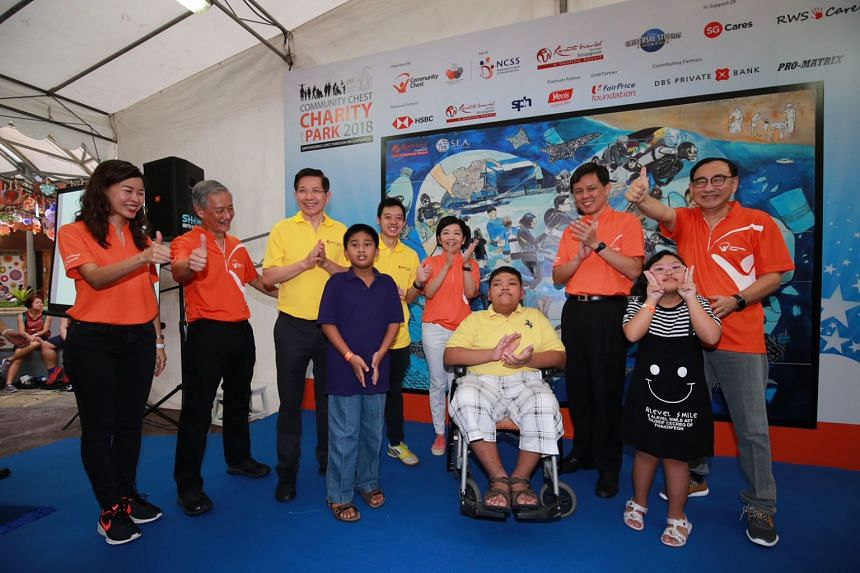 Charity in the Park 2018, one of the Community Chest's events, raised about $2.3 million for about 80 social service organisations on Jan 20.
