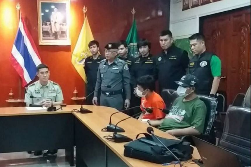Thawatchai Raksasil and his aide confessed to being the main coordinators of an illegal logging gang targeting Phayung (endangered Siamese rosewood) trees.