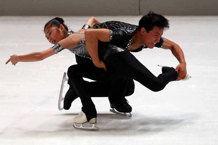 North Korean figure skating pair Ryom Tae Ok and Kim Ju Sik. The three sports in which North Korea will compete at the 2018 Winter Games are ice skating and skiing in addition to women's ice hockey.