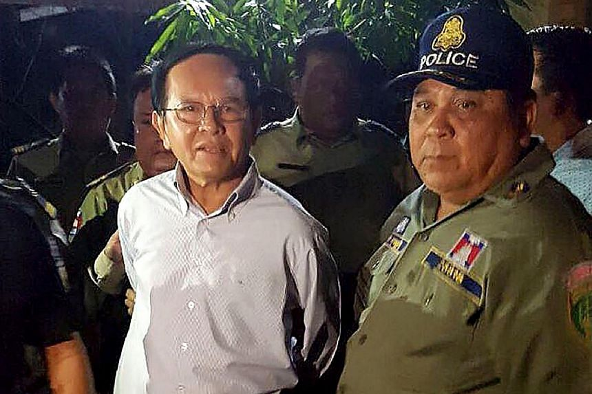 Cambodia's detained opposition leader Kem Sokha has declined to join the Cambodia National Rescue Movement.