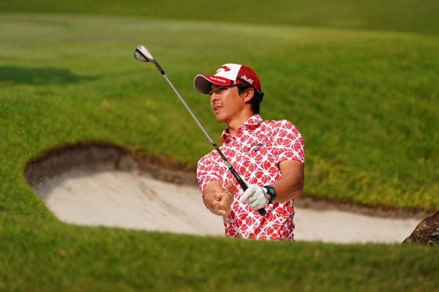 Ryo Ishikawa on the second day of the SMBC Singapore Open at Sentosa Golf Club, on Jan 19.