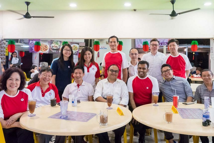 A Facebook post on Jan 18 showed photos of Steve Chia and Jose Raymond clad in party colours, joining other Singapore People's Party members on walkabouts, including party chairman Lina Chiam.