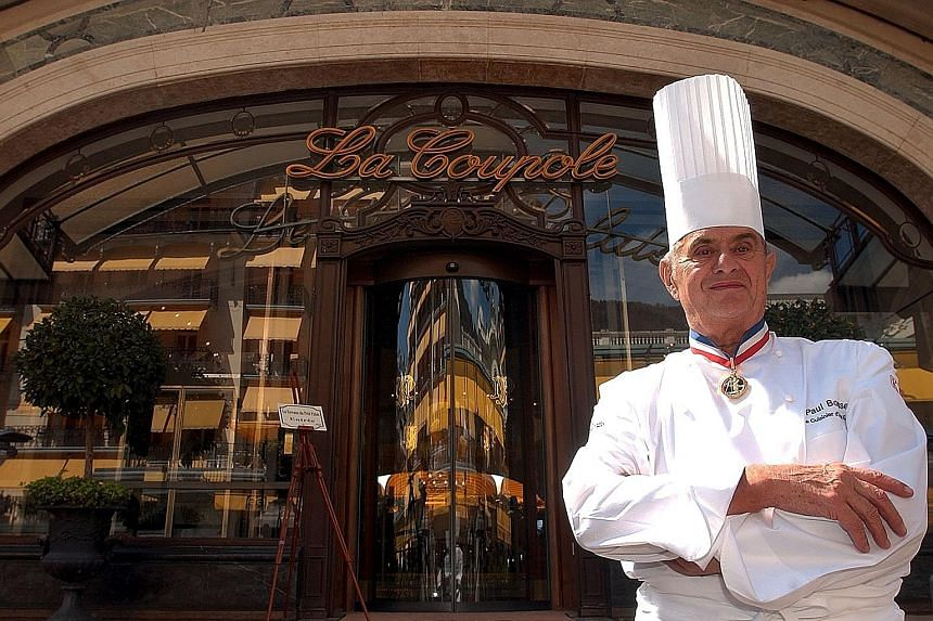 """Chef Paul Bocuse was a driving force behind the """"nouvelle cuisine"""" revolution in the 1970s."""