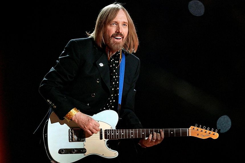 Rocker Tom Petty was found unconscious at home on Oct 2 and died at a hospital later that night.
